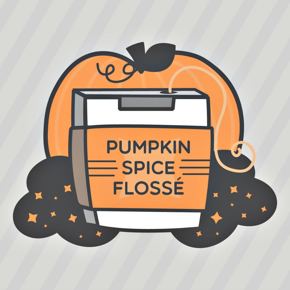 pumpkin spice dental floss