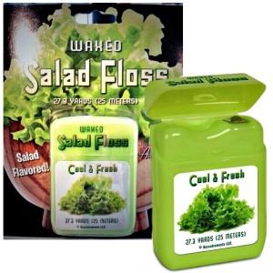 salad flavored dental floss