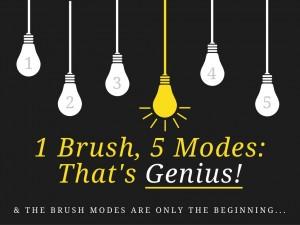 1 toothbrush 5 modes oral-b genius toothbrush giveaway