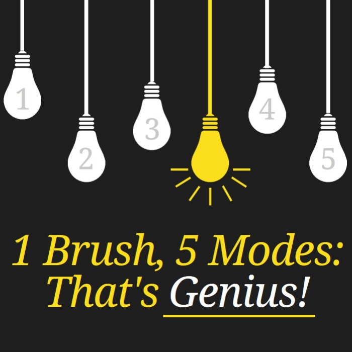 one brush 5 modes oral-b genius toothbrush giveaway