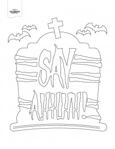 Say AHHH coloring page