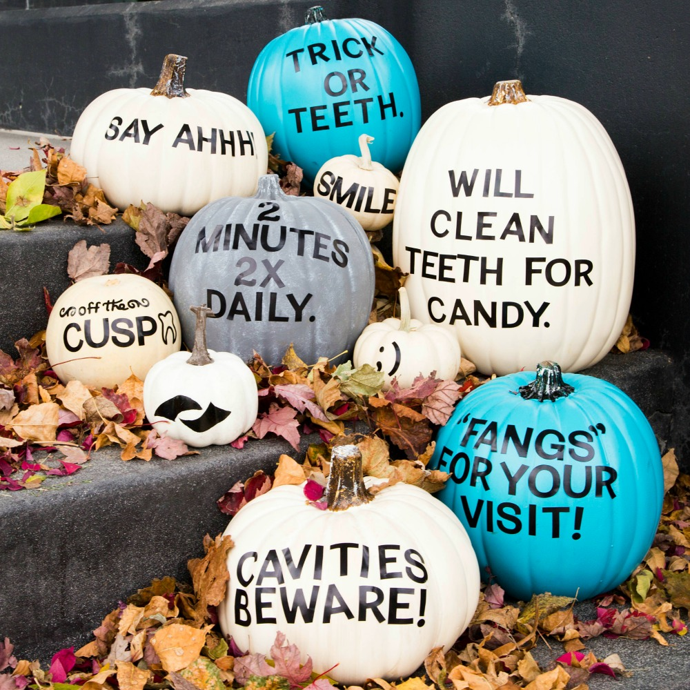 Free diy dental punkins