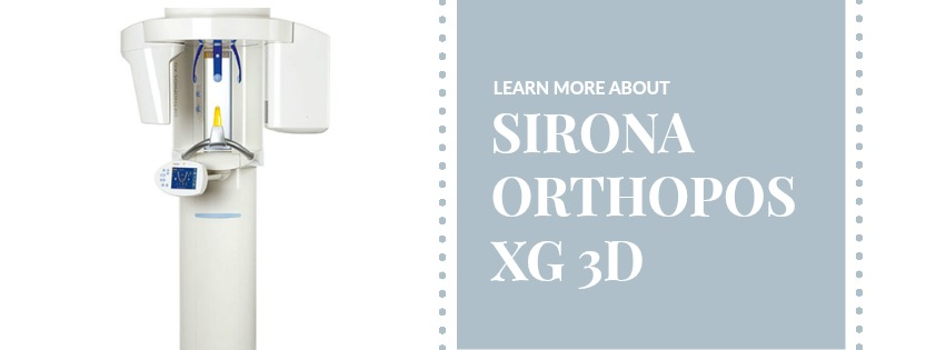 Sirona Orthopos XG 3D