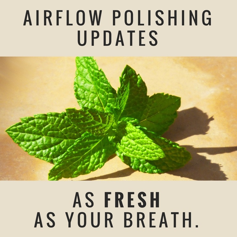 airflow polishing updates as fresh as your breath