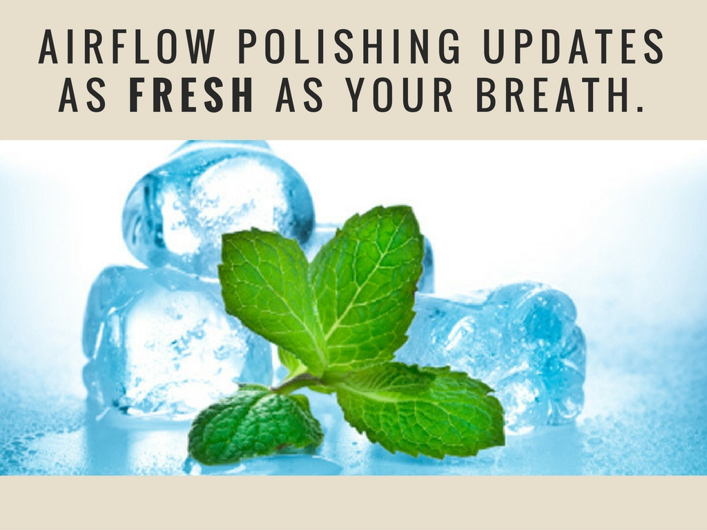 airflow polishing updates as fresha as your breath