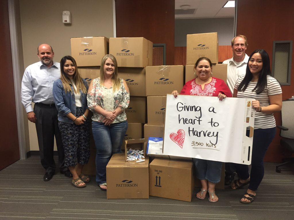 dental professionals volunteer for hurricane harvey