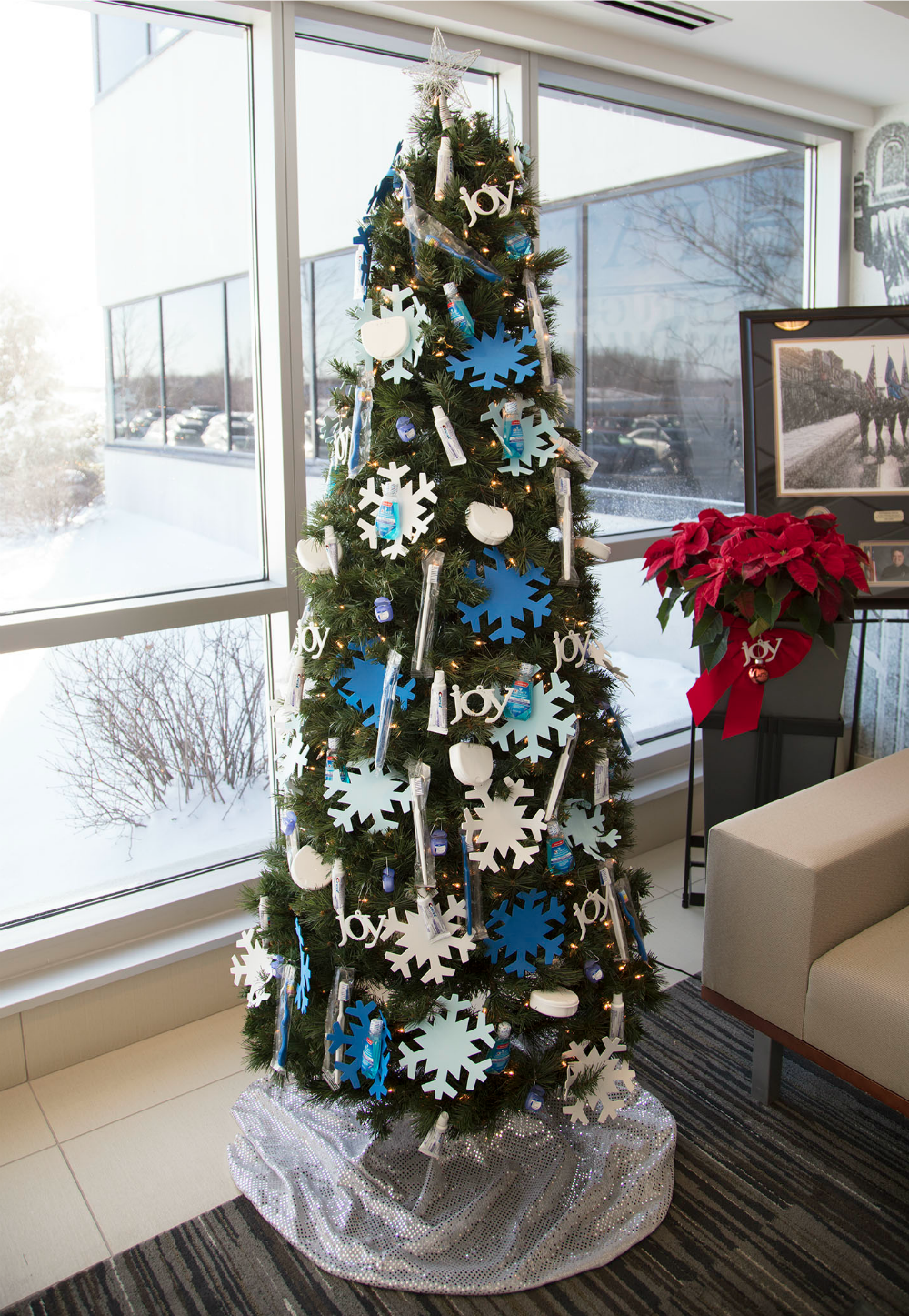 diy dental giveaway tree
