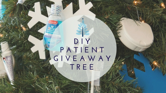 diy patient giveaway tree