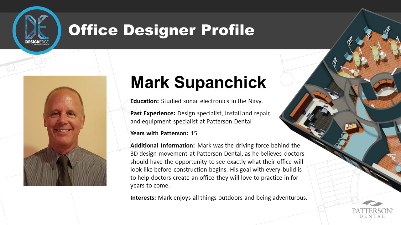 Office Designer Mark Supanchick