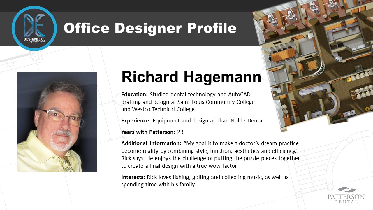 Office Designer Richard Hagemann