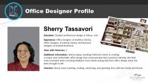 Office Designer Sherry Tassavori