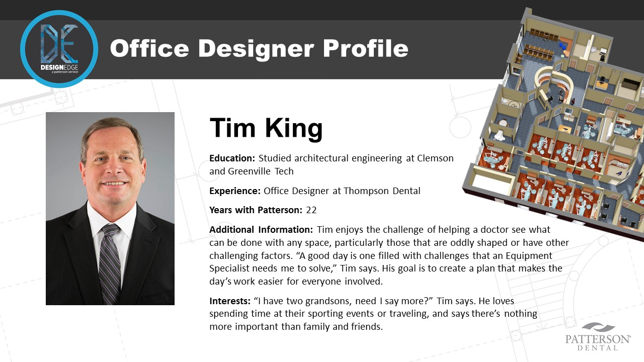 Office Designer Tim King