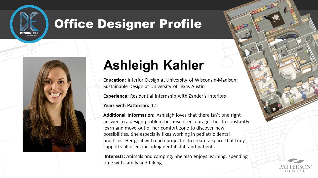 Patterson Office Designer Ashleigh Kahler