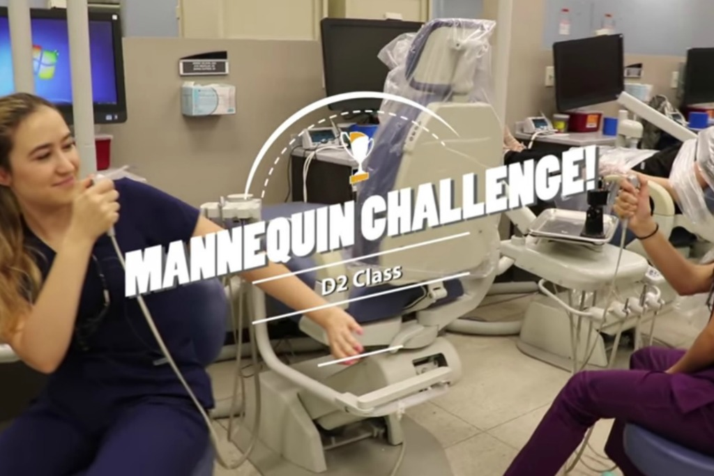 dental mannequin challenge