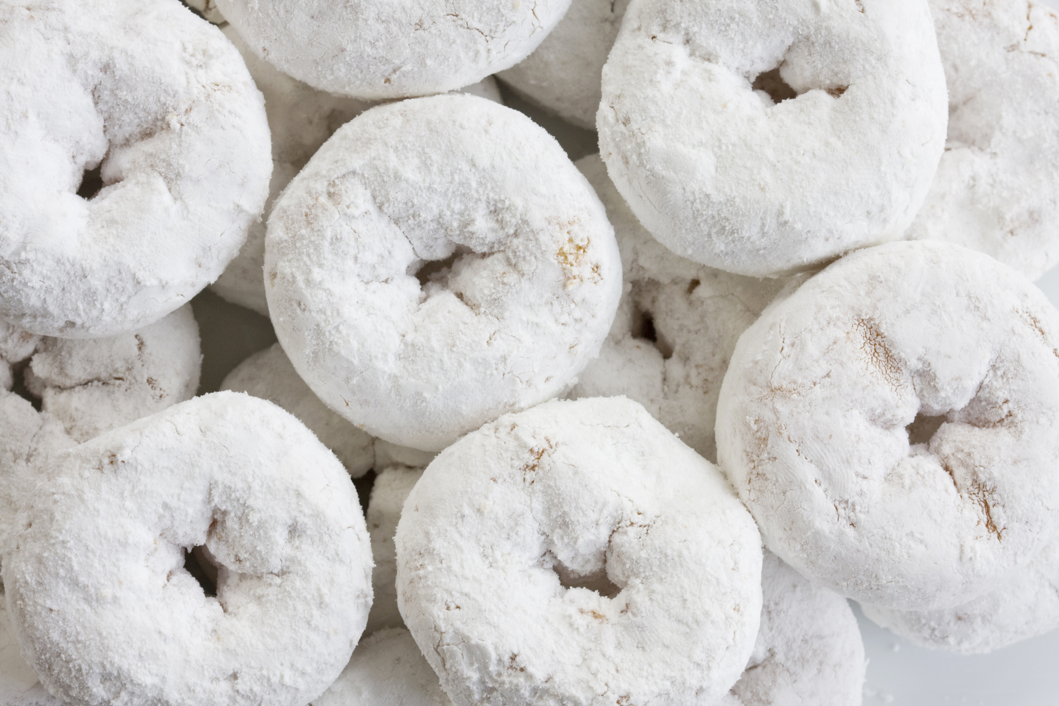 powdered donuts