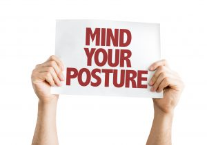 good posture for sitting dentists