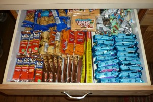perfect snack drawer