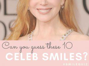 celebrity smile quiz