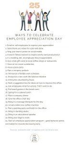 25 ways to celebrate employee appreciation day