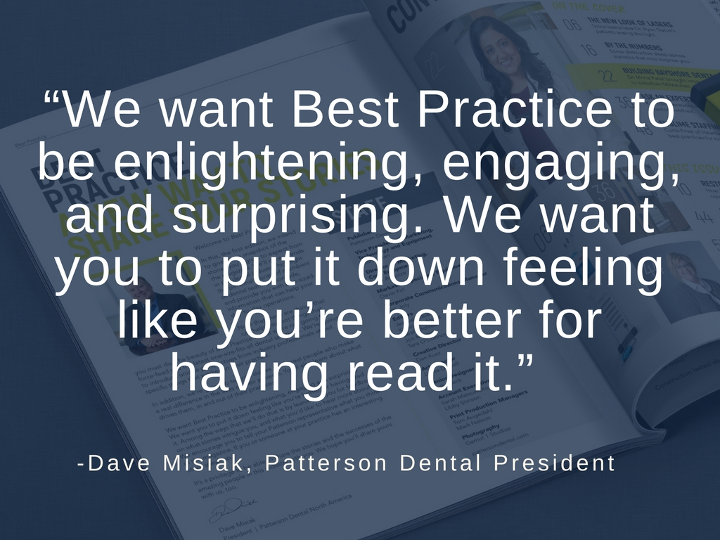 Dave Misiak Best Practice Quote