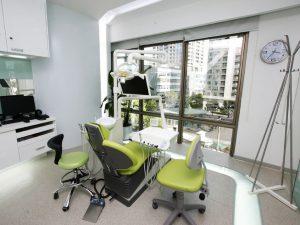 modern sirona dental operatory