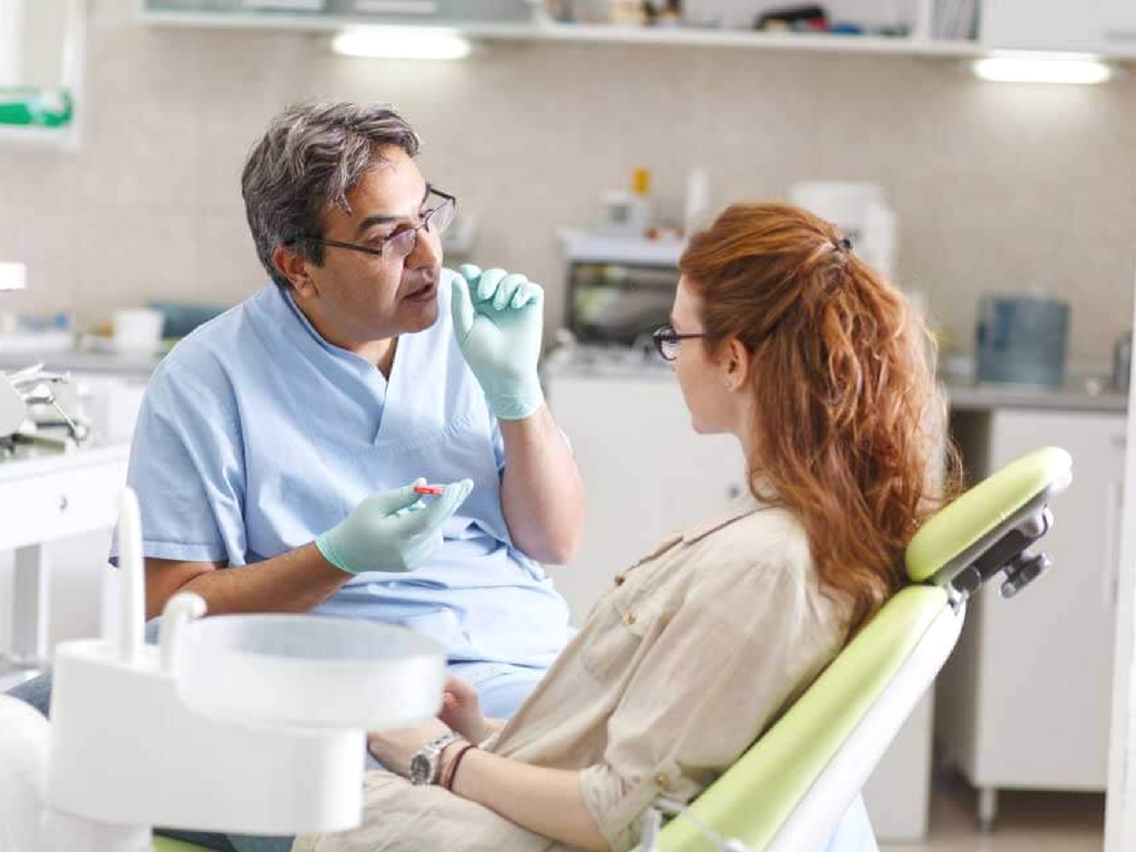 active patient dentist conversation