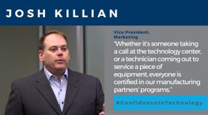 josh killian patterson technology center quote