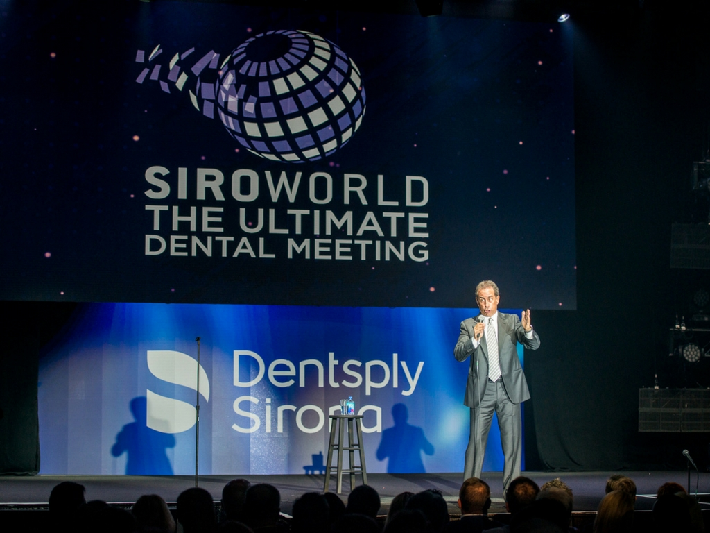 jerry seinfeld at sironaworld