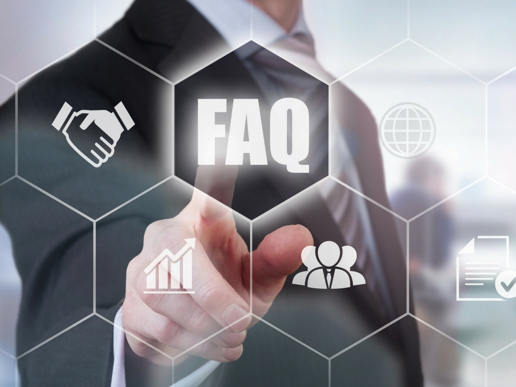 Facts and Questions Stock Image