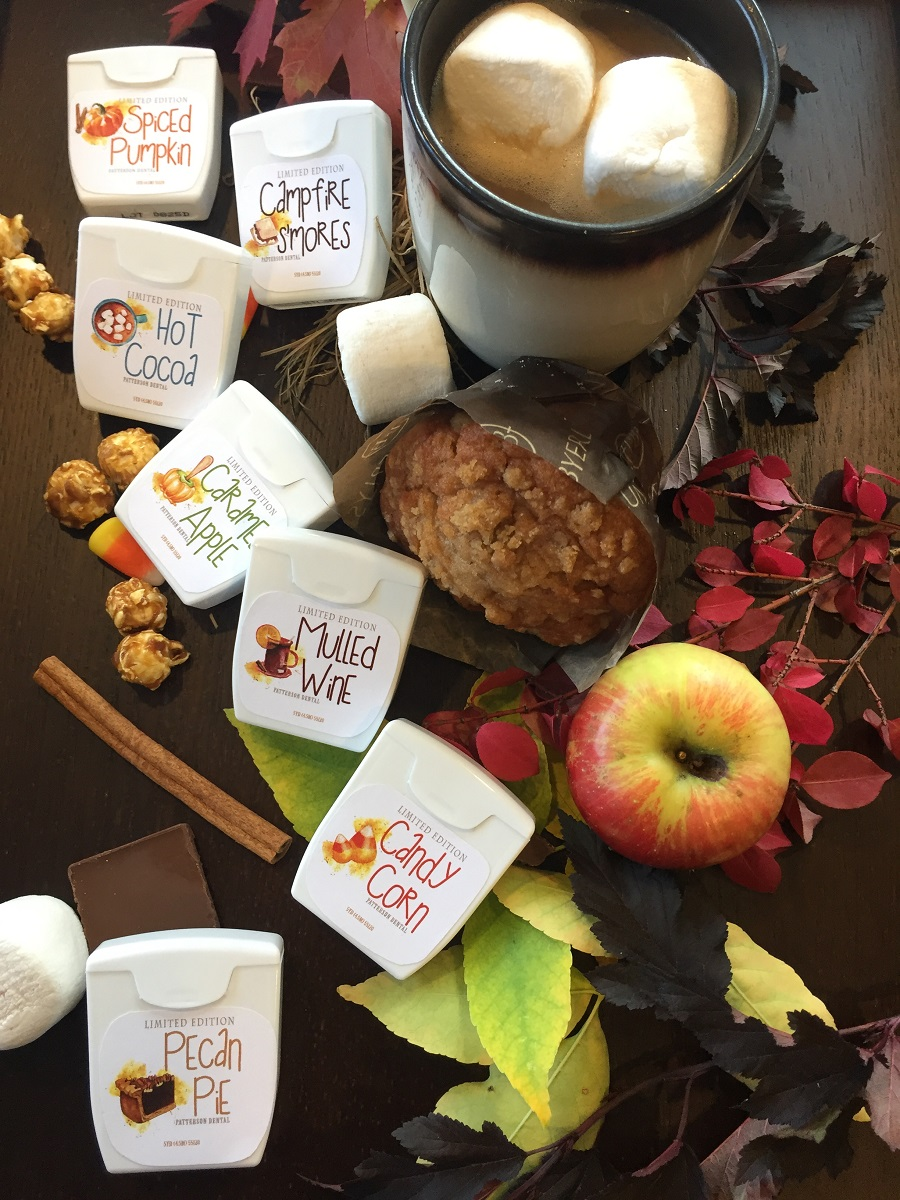 7 fall dental floss flavors