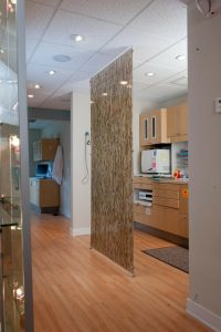 dental offices are more comfortable for patients with an open sterilization center