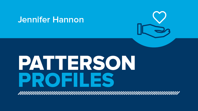 Patterson Profiles Jennifer Hannon on AADOM