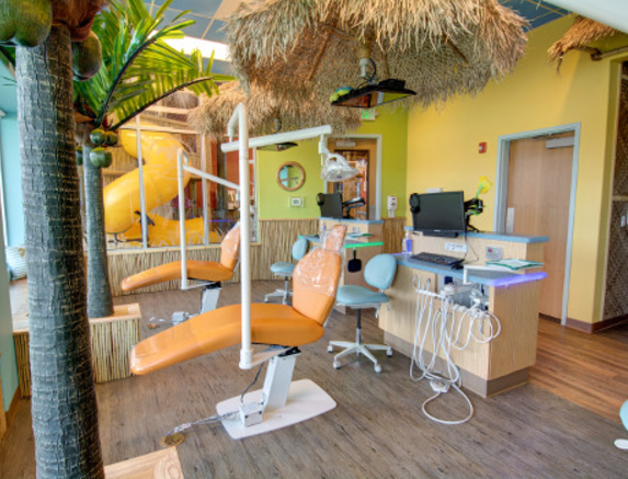 dentistry for kids tiki hut operatory