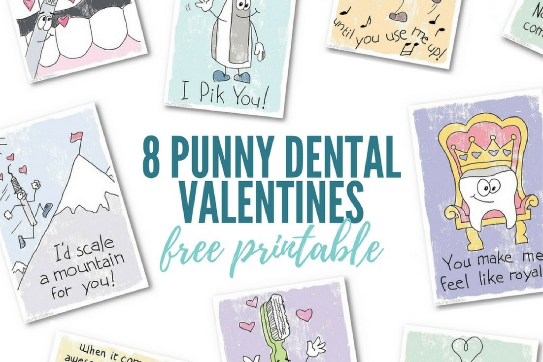 8 punny dental valentines