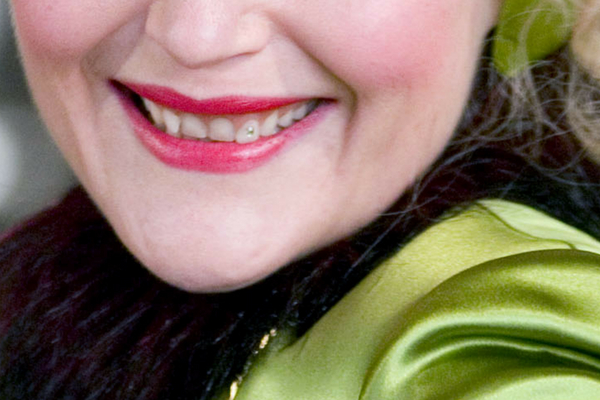 Rita Skeeter Smile Closeup