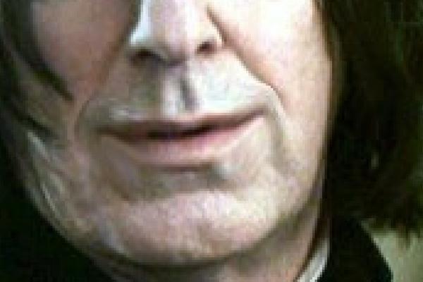 Severus Snape Smile Closeup