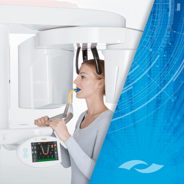 KaVo OP 3D™ with Cephalometric Imaging in use.
