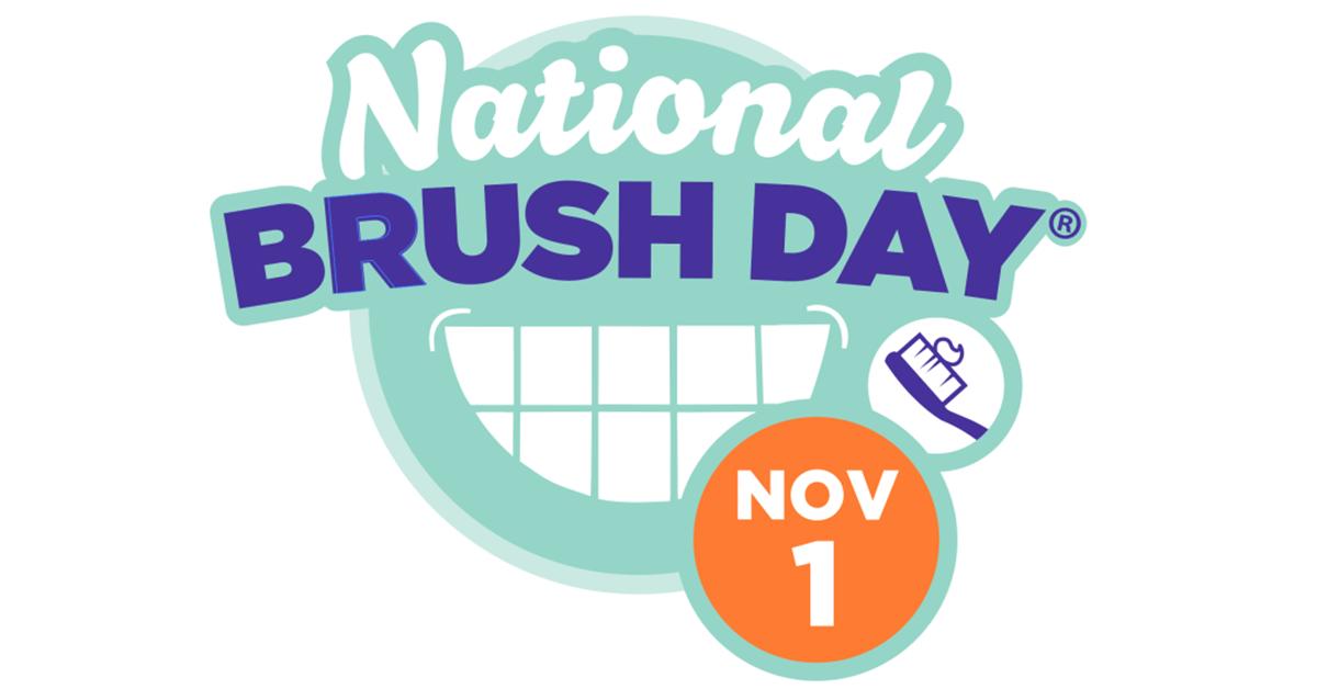 National Brush Day graphic